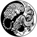 Dragon,Tiger,Buddhism,Zen-l...