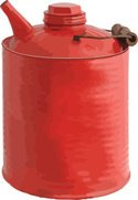 Gas Can,High Angle View,Red...