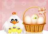 Mother's Day,Hen,Holiday - ...