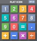 Flat,Number,Computer Icon,S...