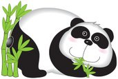 Panda,Cute,Animal,Vector,Il...