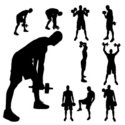 Action,People,Silhouette,Ba...