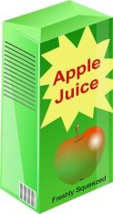 Carton,Juice,Apple - Fruit,...
