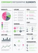 Infographic,Resume,Pink Col...