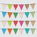 Bunting,Decoration,Multi Co...