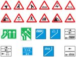 Road Sign,Warning Triangle,...