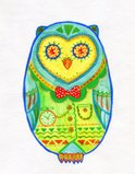 Owlet,Hipster - Person,Art,...