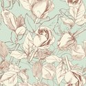 Floral Pattern,Flower,Old-f...