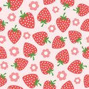 Strawberry,Pattern,Cute,Sea...