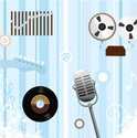 1950s Style,Microphone,Reco...