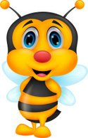 Stinging,Bee,Animal,Black C...