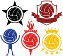 Volleyball - Sport,Symbol,P...