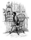 Drawing,Old,Chair,History,V...