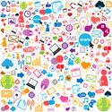 Group of Objects,Internet,S...