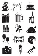 Ilustration,Symbol,Party -...