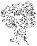 Tree,Curly Hair,Picture Boo...