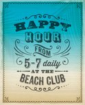 Beach,After Work,Invitation,S…