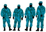 Armed Forces,Silhouette,Pro...