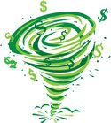 Tornado,Currency,Wealth,Sto...