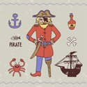 Old,Pirate,Rudeness,Ship,In...
