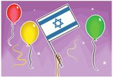 Israeli Flag,Israel,Balloon...