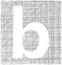 Pencil,Letter B,lowercase,D...