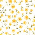Yellow,Floral Pattern,seaml...