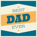 Father's Day,Placard,Typesc...
