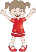 Small,Cute,Child,Vector,Red...