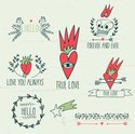Doodle,Love,Tattoo,Wedding,...