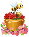 Bee,Backgrounds,vectorized,...