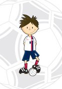 Soccer,Little Boys,Cartoon,...