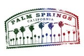 Palm Springs,Postage Stamp,Ca…