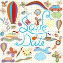 Cute,Pattern,Day,Postcard,C...