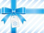 Bow,Bow,Gift,Christmas,Blue...