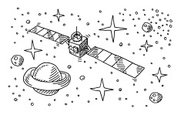 Planet - Space,Drawing - Ar...