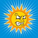 Sun,Displeased,Furious,Ange...