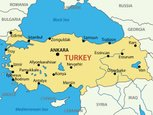 Turkey - Middle East,Cartog...