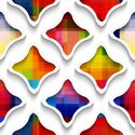 Mosaic,Abstract,Cut Out,Per...
