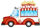 Popcorn,Car,Streetfood,Sell...