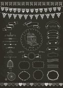 Blackboard,Birthday,Bunting...