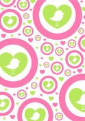 Cute,Pattern,Bird,Cartoon,H...