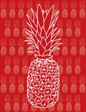 Pineapple,Red,Modern,Textur...