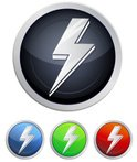 Power,vector icons,Isolated...