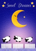 Sheep,Shape,Night,Shiny,Sig...