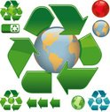 Arrow,Recycling Symbol,Glob...