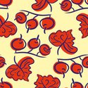 Leaf,Pattern,Red,Fashion,Be...