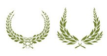 Olive Tree,Laurel Wreath,Le...