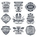 Athlete,Retro Revival,Rugby...