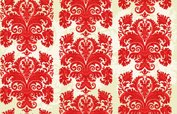 Victorian Style,Red,Backgro...